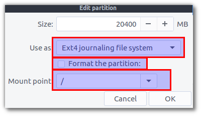 Partition Properties